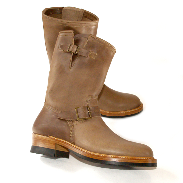 John Lofgren Engineer Boots – Natural CXL