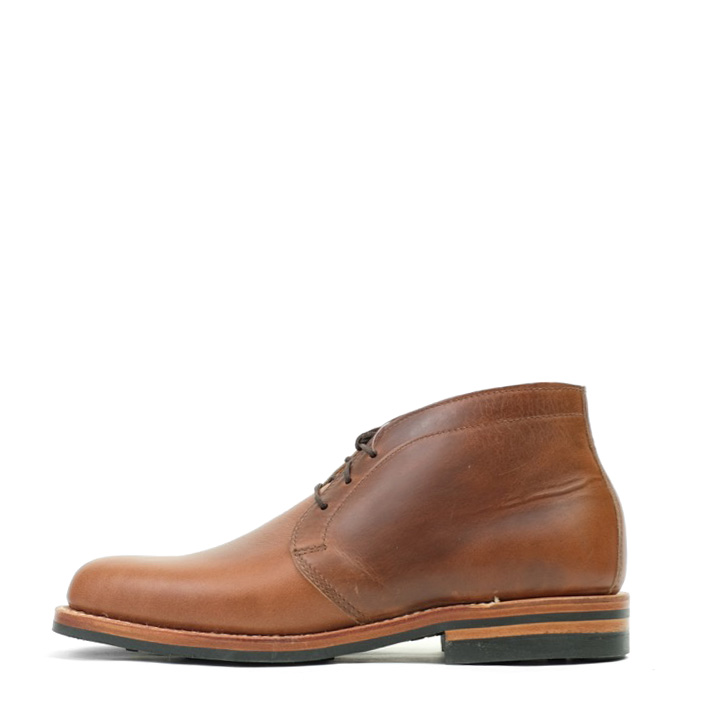 White S Kinney Chukka Boots British Tan Cxl East West