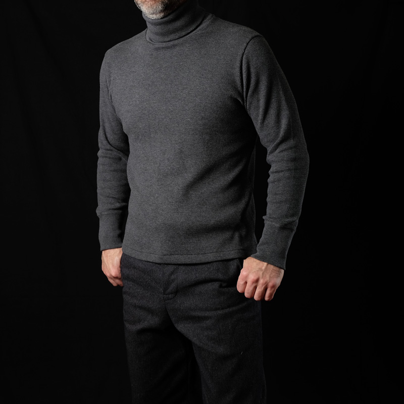 Belafonte Ragtime Turtle Neck Honey Thermal – Charcoal