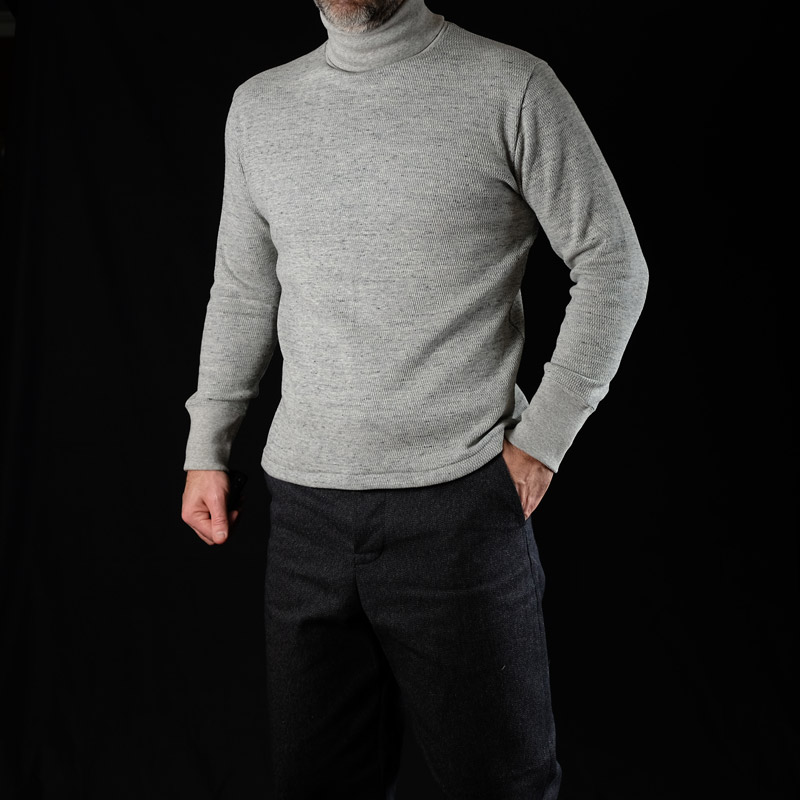 Belafonte Ragtime Turtle Neck Honey Thermal – Mix Grey