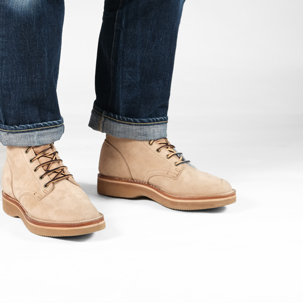 Truman Boot Co – Ship's Biscuit Kudo Leather
