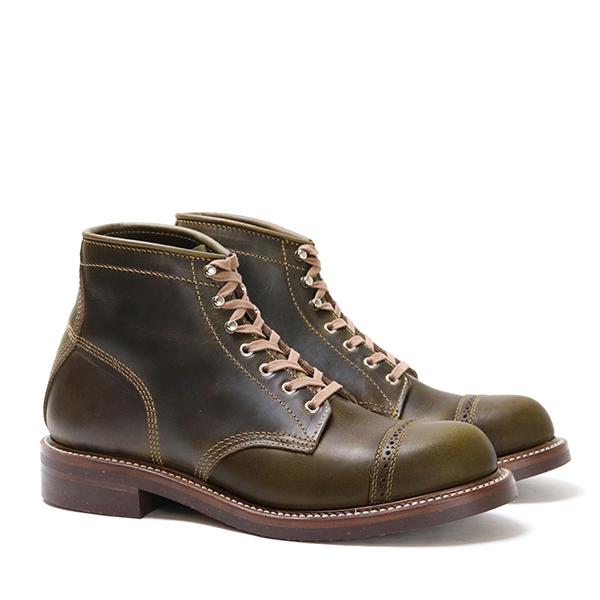 John Lofgren Combat Boots – Olive CXL