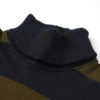 Dehen 1920 Submariner's Turtleneck - Loden & Navy