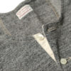 Stevenson Overall Co Short Sleeve Henley Heather Grey
