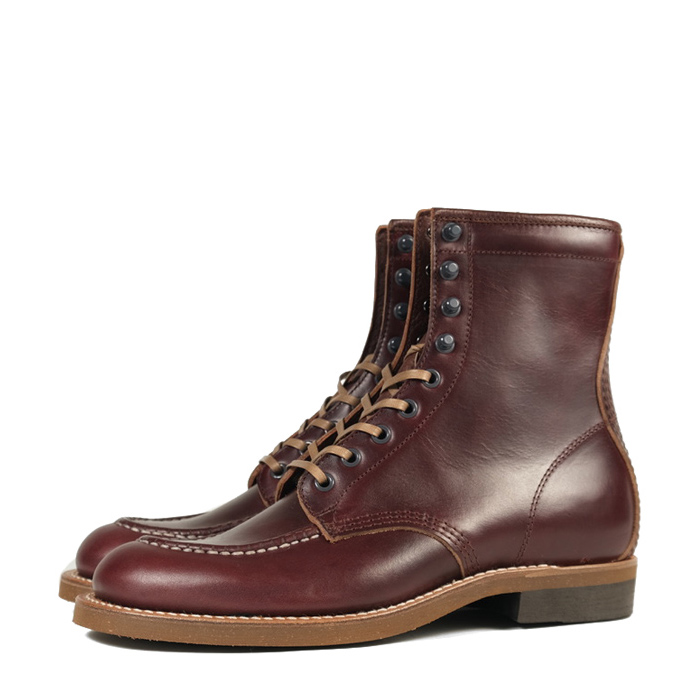 Brother Bridge Hunter Boots – Burgundy Chromexcel