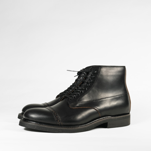 Brother Bridge Phillips Boots – Black Chromexcel