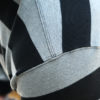 WESTRIDE long sleeve border Tee Black Grey