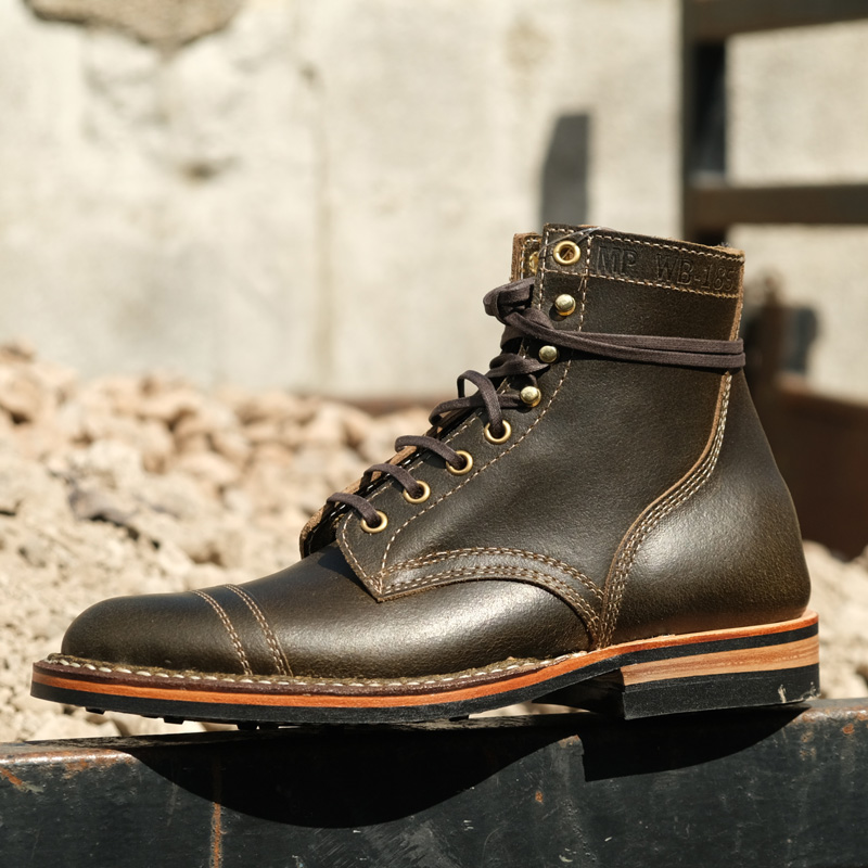 White's MP Service Boots - MP-M1TC - Olive Waxed Flesh