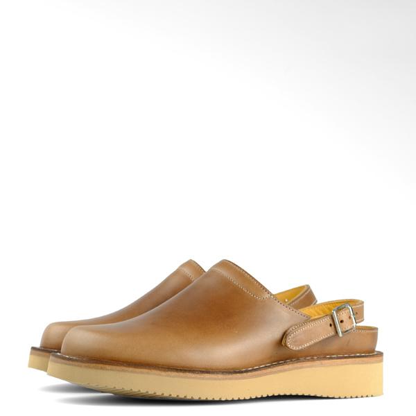 Zerrows Sabot Sandals - Natural CXL Leather