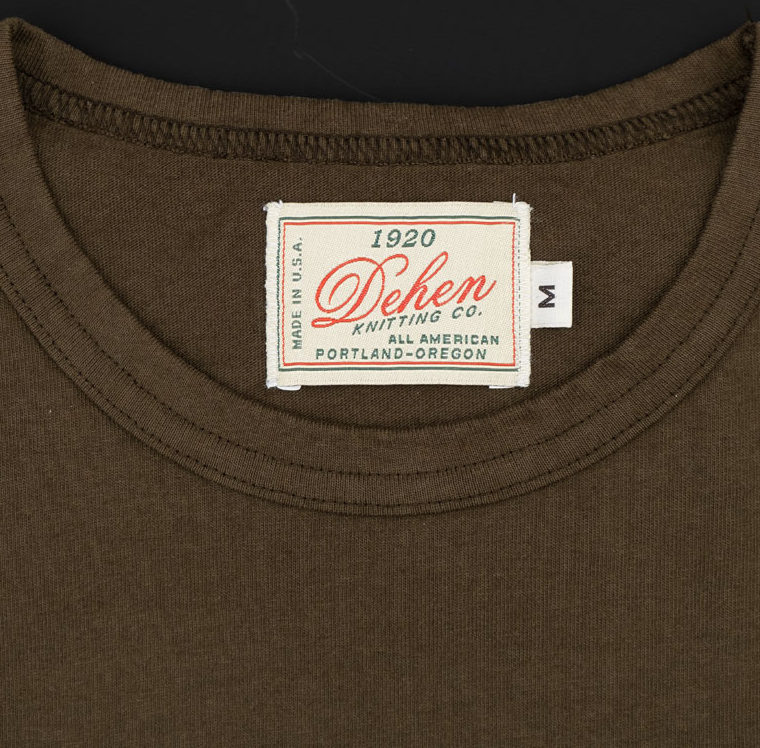 Dehen 1920 Long Sleeve Pocket Heavy Duty Tee – Loden