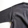 Loop & Weft 3/4 Sleeve Tee - Black