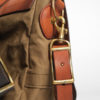 Vasco Leather Canvas Mailbag Medium