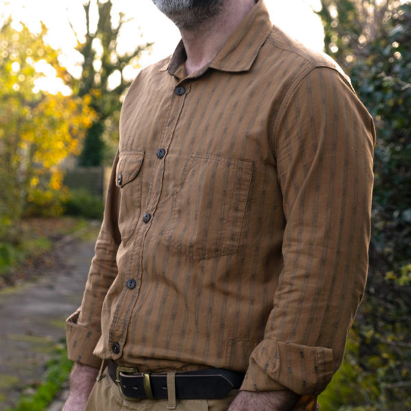 Scarti-Lab 315 SM973 Shirt Golden Oak