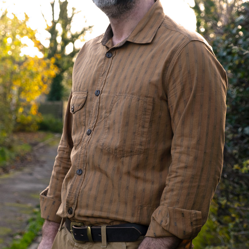 Scarti-Lab 315 SM973 Shirt – Golden Oak
