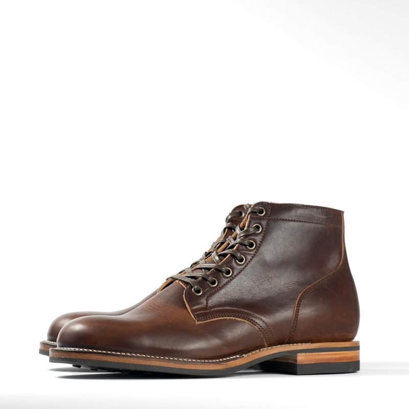 Viberg Service Boots – Dark Rubber Essex