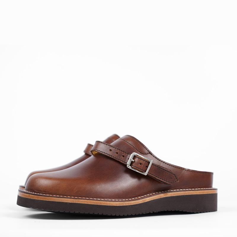 Zerrows Sabot Sandals – Dark Brown Dagres