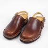 Zerrows Sabot Sandals Dagres Dark Brown