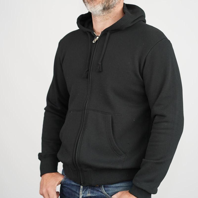 Addict Clothes ACVM Zip Hoodie - Black