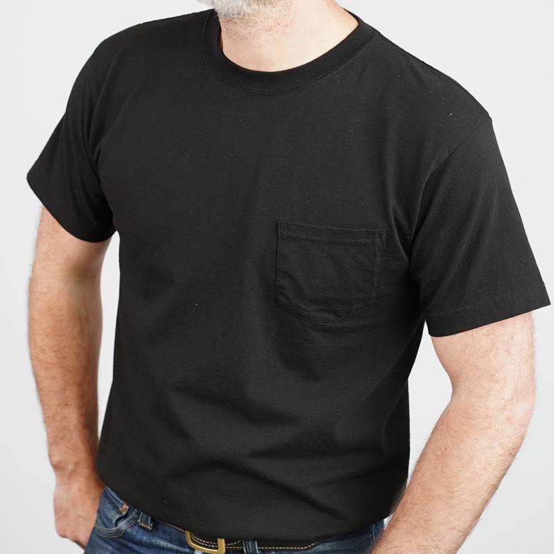 Addict Clothes Slant Pocket Tee – Black