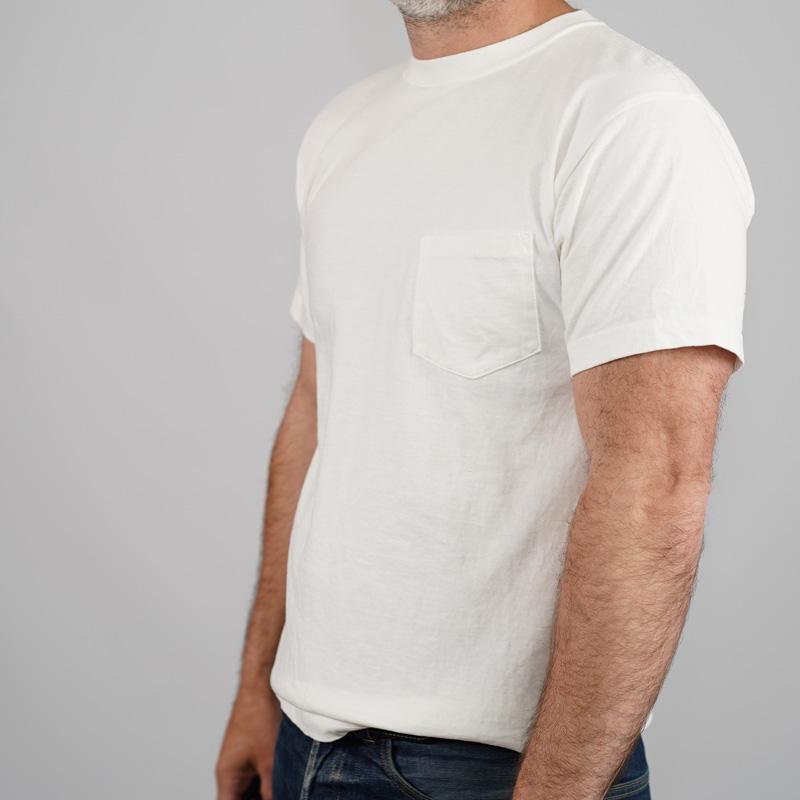 Addict Clothes Slant Pocket Tee - White