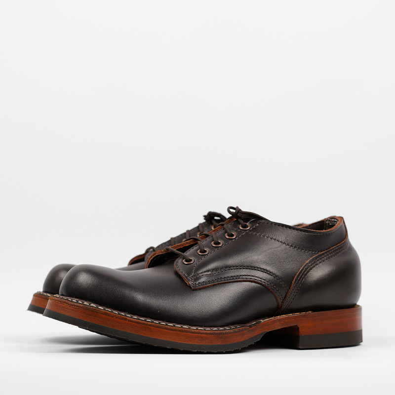 White's Oxford – Brown Dress Leather