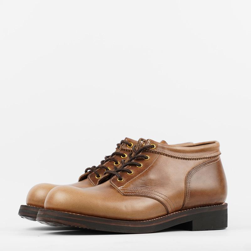 Rolling Dub Trio – Coupen Boots – Natural CXL