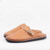 Zerrows Slit Sandals - NY Camel
