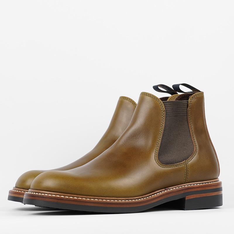 John Lofgren Chelsea Boots – Olive CXL